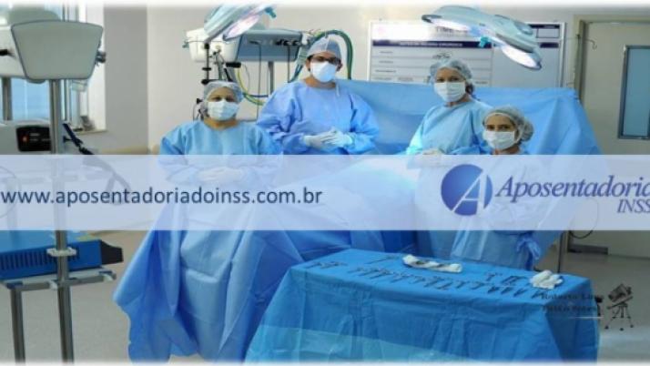 Trabalho de auxiliar de anestesia é reconhecido como atividade especial