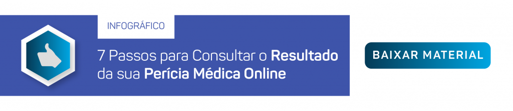 [infográfico] 7 Passos para consultar o resultado da sua perícia médica