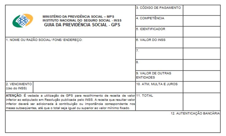 GPS-Aposentadoria do INSS